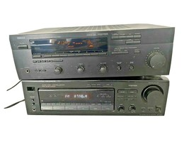 Lot of 2 Vintage Stereo Receivers (Yamaha RX-V490 & Sony STR-D665) *AS-I... - $29.99