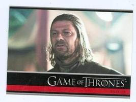 Game of Thrones trading card #27 2012 Lord Ned Stark Sean Bean - $4.00
