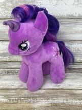 Ty My Little Pony Twilight Sparkle Plush Purple Unicorn Beanie Babies  - $10.39