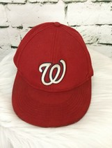 MLB Youth Hat Red 'W' Strap Back - $9.89