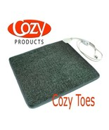 Foot Warmer Carpet Mat Heated Carpeted Cozy Toes 70 Watts 110 Volts - $64.99