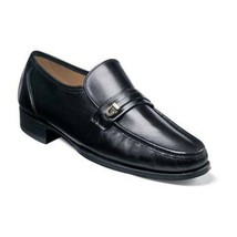 Black Color Moccasin Loafer Slip Ons Handcrafted Stylish Leather Apron T... - $139.90+
