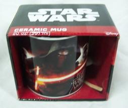 "STAR WARS The Force Awakens KYLO REN 4"" CERAMIC MUG NEW - $16.34"