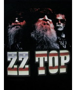 T-Shirt concert Powered by ZZ TOP tour 2014 faces medium - $39.95