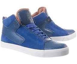 DC Men's District 4 Royal Blue (Roy) Shoes 303000 NIB Sz 9.5 Nice $85 Retail - $45.48