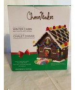 ChocoMaker Inc. Milk Chocolate Winter Cabin Kit. Choco Flavor Gingerbrea... - $24.02
