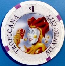 $1 Casino Chip. Tropicana, Atlantic City, NJ. W24. - $4.29