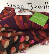 NWT Vera Bradley Soft Wool scarf In Roswood Pinecones - $25.99