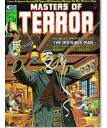 Masters Of Terror #2 H.G. Wells Invisible Man Howard Bloch Lovecraft Mon... - $7.95