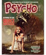 Psycho Magazine #8 Devil's Woman Black Rain Queen Of Blood Monster Horror - $11.95