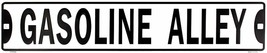 "Gasoline Alley 24"" x 5"" Embossed Metal Street Sign - $12.95"