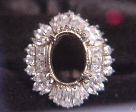 925 PC John Jabor Gorgeous Fashion Ring Size 7.75