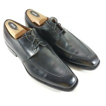 FINSBURY Mens Oxfords Size 8 M black Dress Shoes Goodyear Welted Apron Toe - $109.27