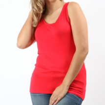 Red Plus Tank Tops, Plus Size Tank Tops, Womens Plus Size Tops, Colbert Clothing