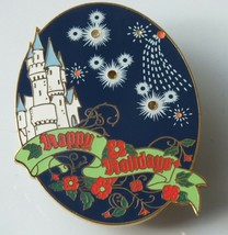 Disney Pin WDW Happy Holidays 2001 Light-Up - #8237 - Needs Battery - $21.82