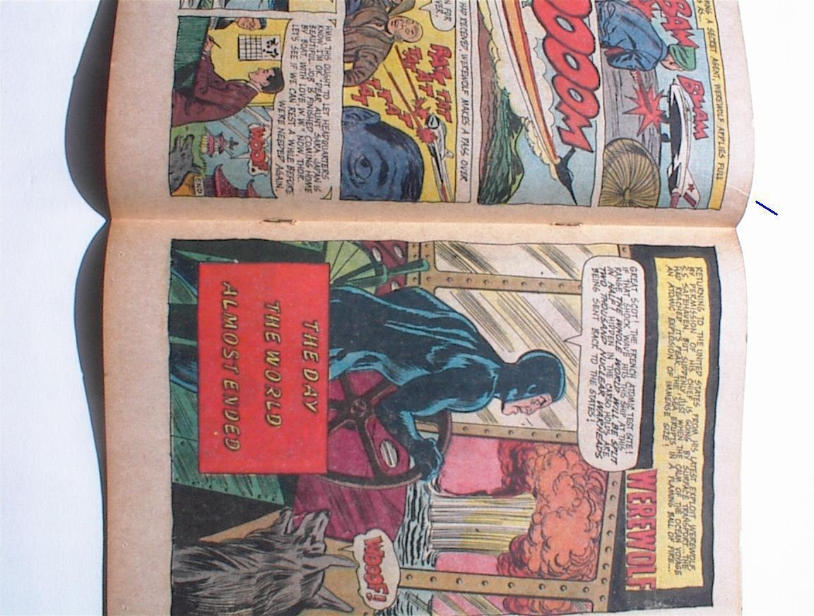 WEREWOLF No 3 Dell 12 cent Comic Book April 1967 Last of This Series