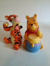 Disney Best Friends Winnie The Pooh And Tiger Salt And Pepper Shakers - $24.74