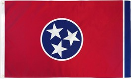 "STATE OF TENNESSEE 3X5' FLAG NEW 36X60"" BIG - $9.85"