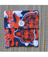 Violin/Viola Rosin Pouch/Flannel/FiddleBelle Brand/Chicago Bears/NFL - $4.95