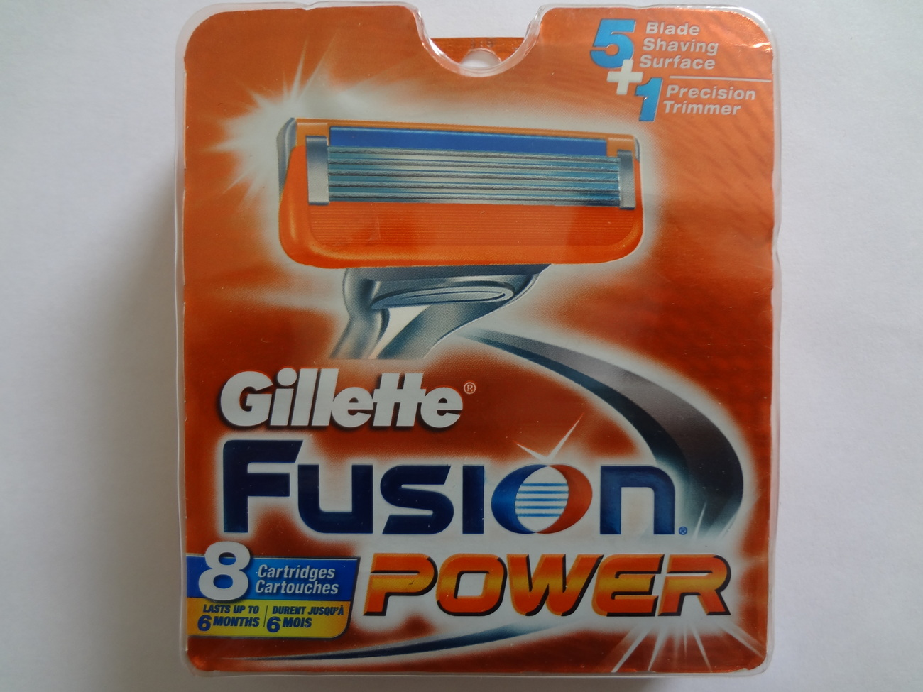 Gillette Fusion Power Refill Cartridges (8 Count)