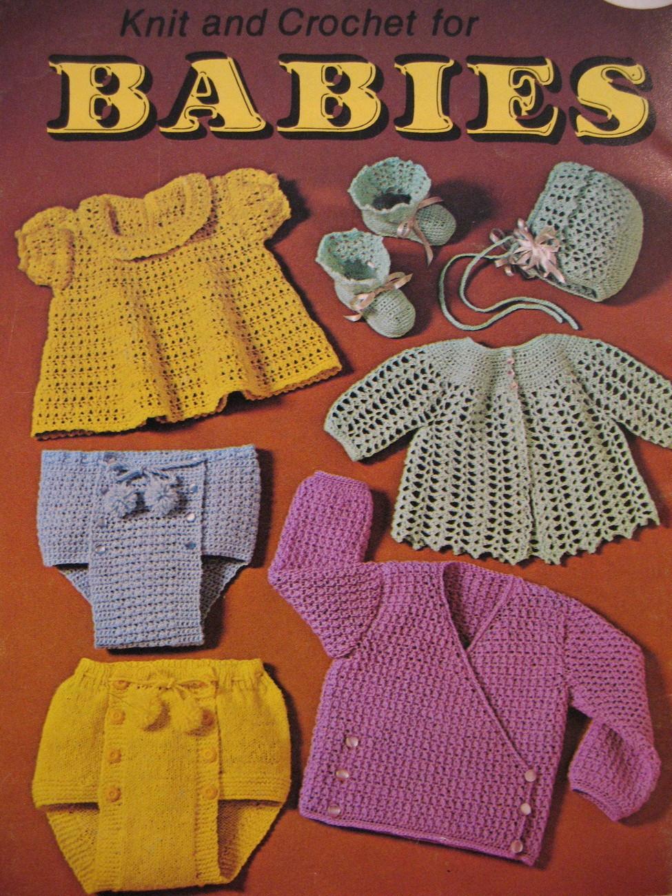 Sailor Outfit Dress Knitting Crochet Pattern Booklet Babies