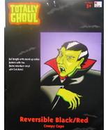 Child's Vampire Creepy Cape Halloween Costume Age 3+, NEW UNUSED - $5.94