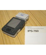 SONY IPS-760 PYXIS GPS Receiver (Not Working)