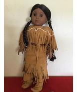 "Vtg American Girl Pleasent Company Kaya  Doll 18"" with Box - $130.00"