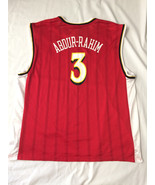 Atlanta Hawks Basketball NBA Jersey Size 2XL #3 Shareef Abdur-Rahim Reebok - $11.86