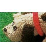Rain 'n Shine Puppy Dog with Collar & Raincoat, Animal Amigurumi Crochet... - $76,16 MXN