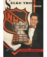 1993-94 Stadium Club #149 Doug Gilmour/Selke Trophy  - $0.50