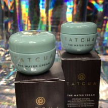 2x Tatcha 5mL THE Water CREAM mini Great For ALL Skin Types image 2