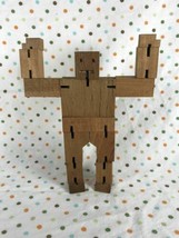 David Weeks Studio AreaWare Articulated Poseable Wooden CubeBot - $14.00