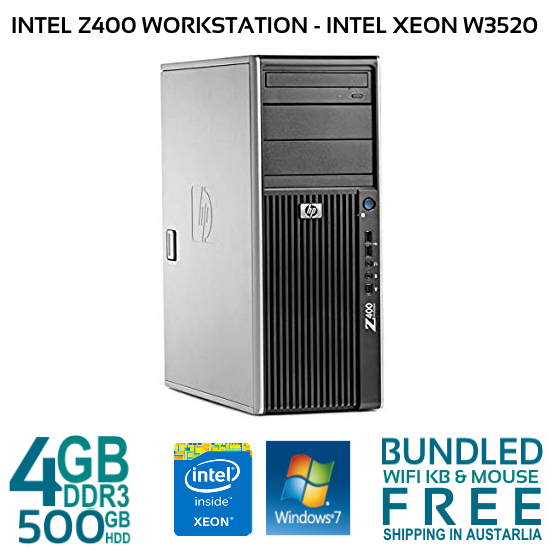 Hp Z400 Workstation Intel Xeon W3520 2 67GH and 50 similar items