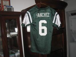 NY JETS MARK SANCHEZ  YOUTH  HOME JERSEY(M 10/12) - $9.99