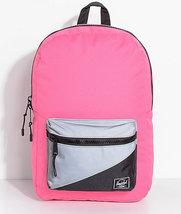 WOMENS GIRLS Herschel Supply Co. Settlement Neon Pink Reflective 17L Bac... - $44.99