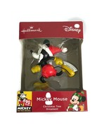 Hallmark Disney 90 Years Mickey Mouse Ice Skate 2018 Christmas Tree Orna... - $18.30