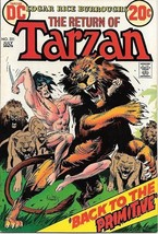 Tarzan Comic Book #221  DC Comics Issue 1973 VERY FINE-  UNREAD - $8.56