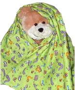 Cute Bug Flannel Baby Blanket, bugs toddler han... - $12.95