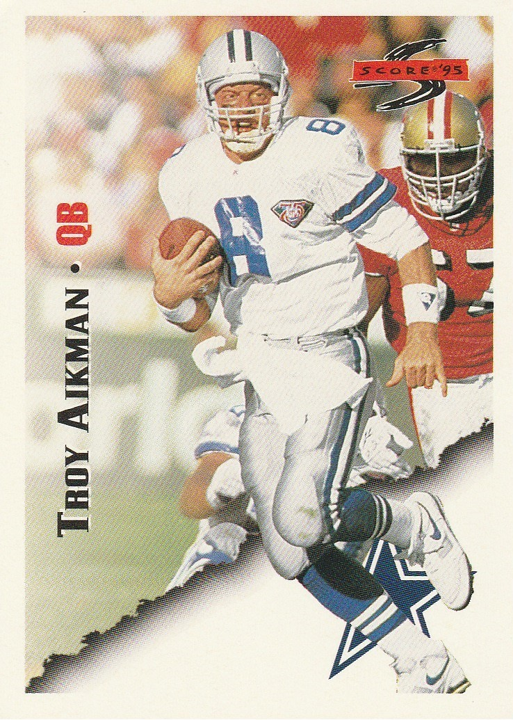 Primary image for 1995 Score #15 Troy Aikman