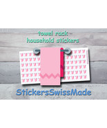 towel rack   planner stickers   household   for planner and bullet journal - $3.00+