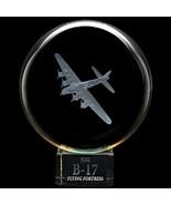 Dynasty Gallery B17 Flying Fortress Crystal Ball - $32.58