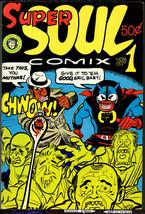 Super Soul 1, Kitchen Sink 1972, Grass Green, vintage Underground comix ... - $20.90