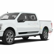 Side Door Stripes Racing Sport Wrap Decal Sticker for Ford Supercrew cab... - $49.68