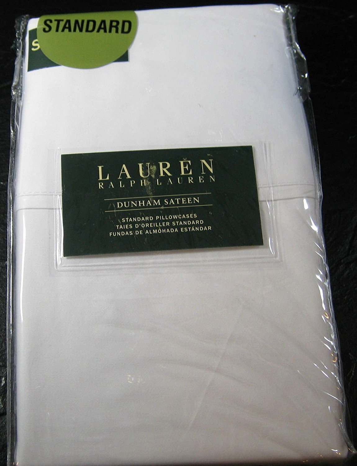 Ralph Lauren Dunham White Pillowcases Standard