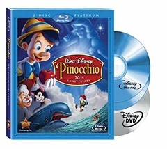 Disney Pinocchio (Platinum Edition 3 disc Blu-ray + DVD)