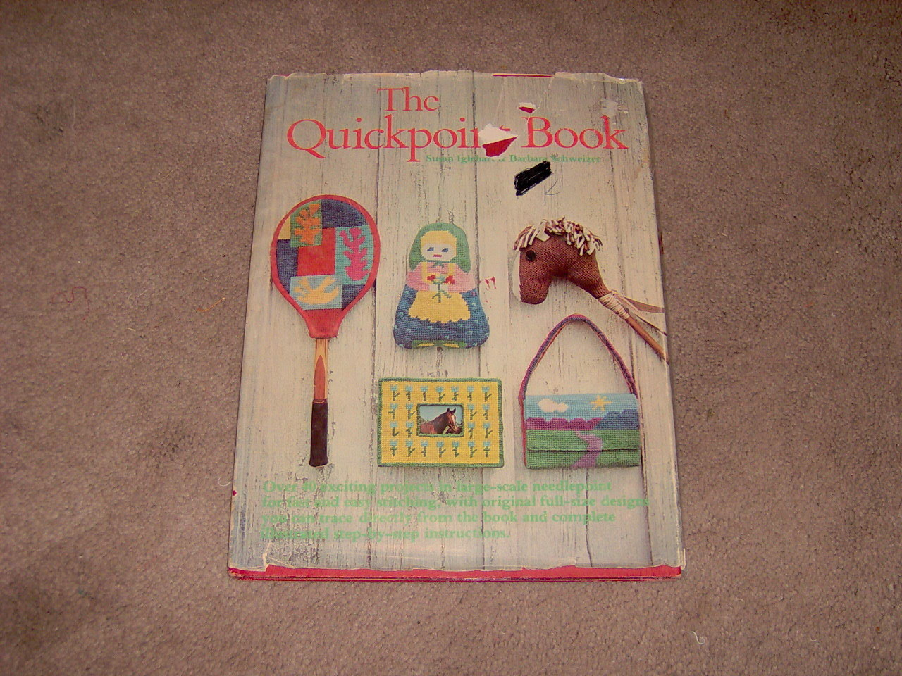 "The Quickpoint Book"" needlework"