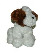 10 inch Circo Plush Dog Puppy Terrier Stuffed Animal Lovey Brown White - $24.63