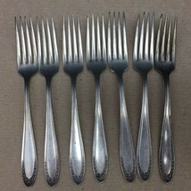 Dinner Forks Oneida Community Par Plate Bridal Wreath Antique Flatware L... - $9.99