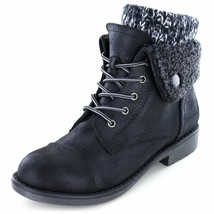 Cliffs by White Mountain Womens Deuna Hiking Style Boot 8 Black - €20,88 EUR
